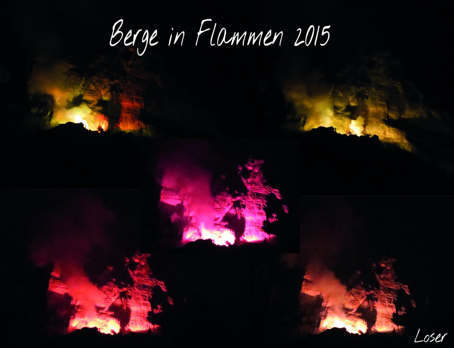 Berge in Flammen 2015; Loser/Altaussee