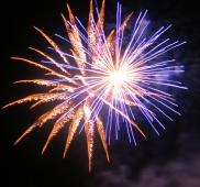 10: Feuerwerk