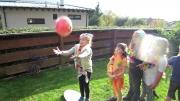 …mit Ball-Fangen